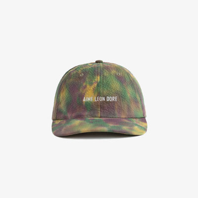 TIE DYE LEISURE HAT - PURPLE