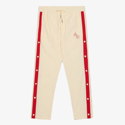 WARM-UP TRACK PANTS - CREAM