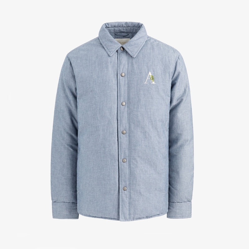 Down-Filled Oxford Jacket