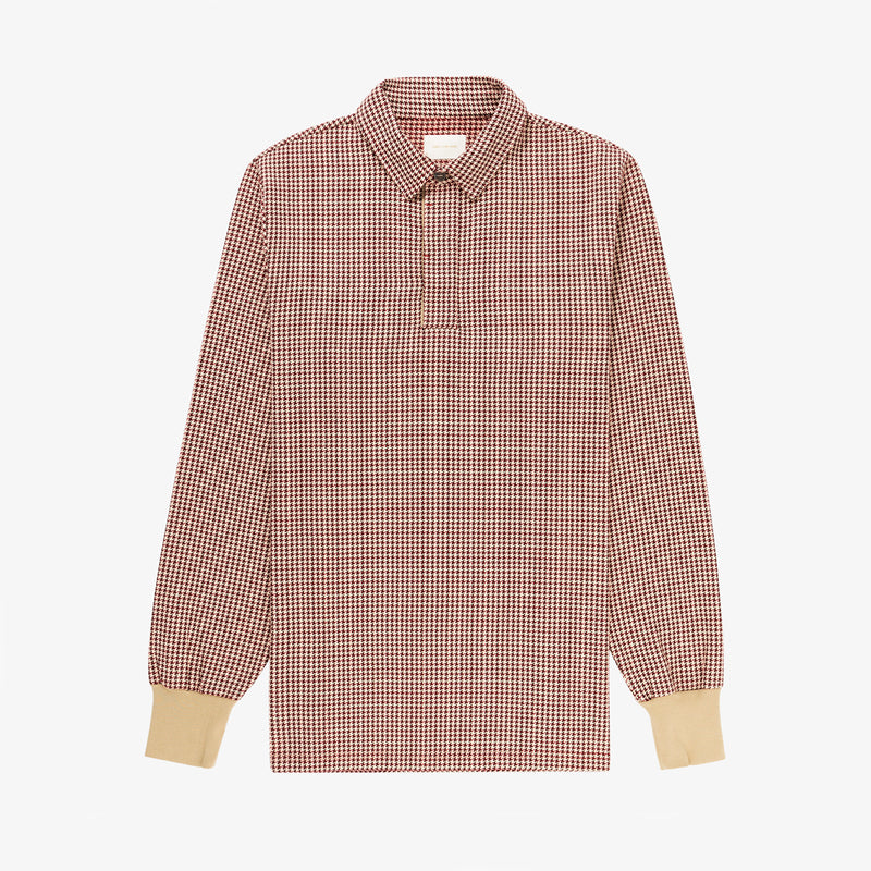 Houndstooth Flannel Rugby