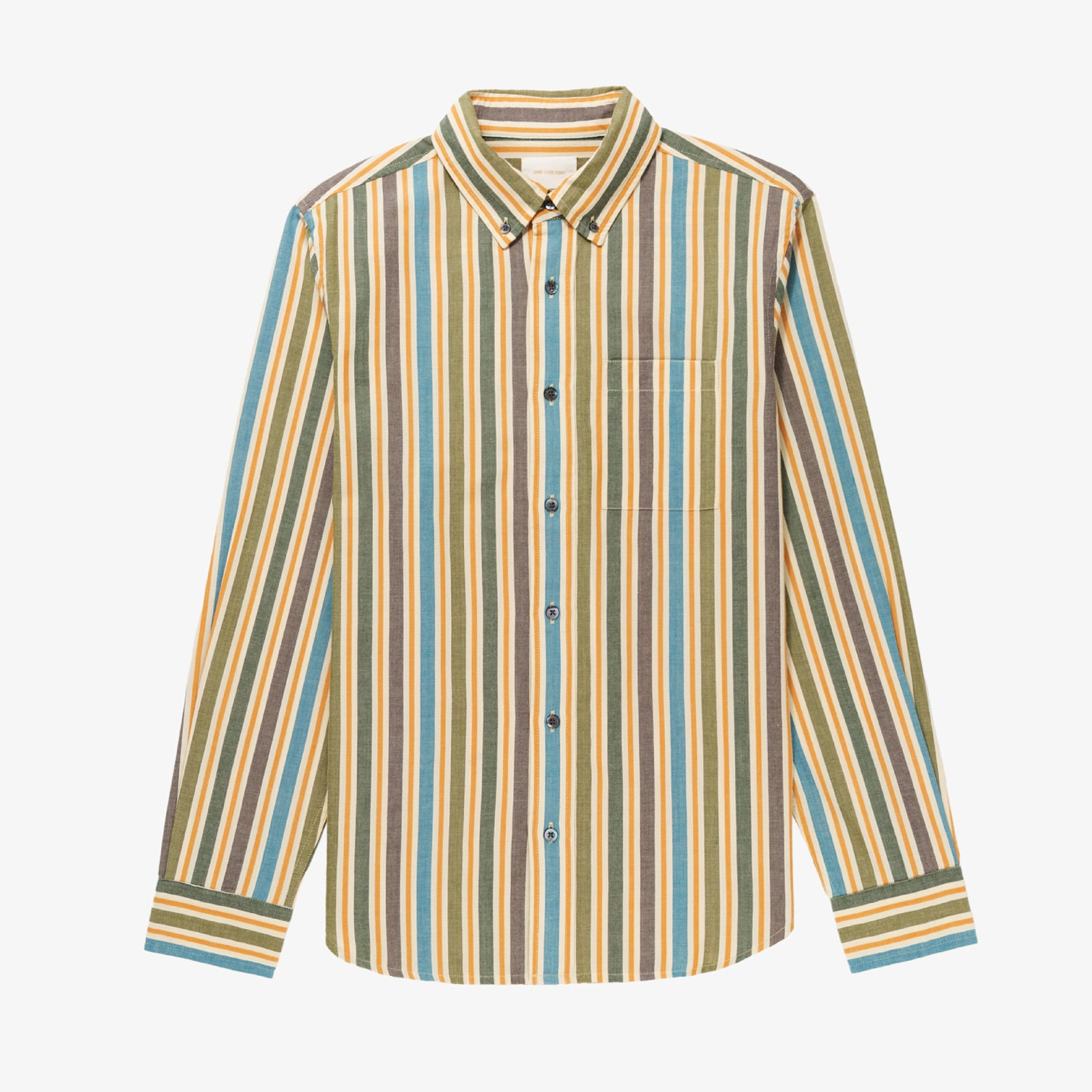 Vintage Striped Oxford