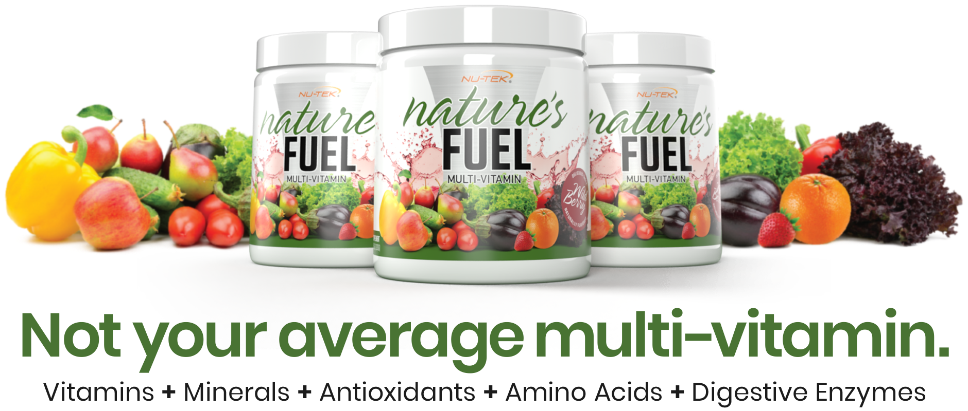 NATURE'S FUEL by NU-TEK Nutrition