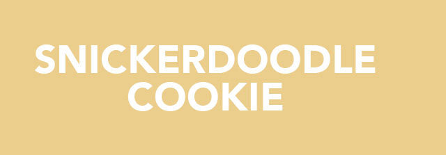 Snickerdoodle Cookie By NutraBio