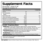 N.O.X-P3™ Supplement facts