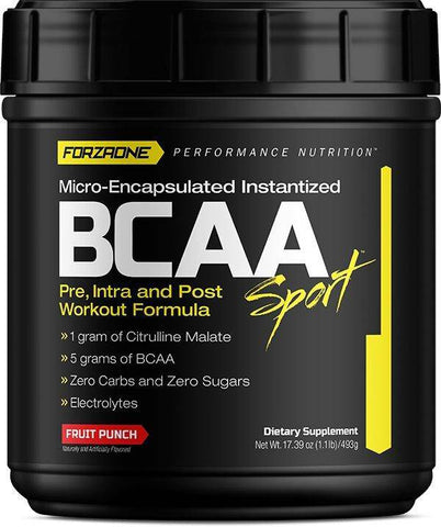 BCAA SPORT™, RECOVERY & AMINO ACIDS, FORZAONE PERFORMANCE NUTRITION