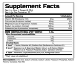 BCAA SPORT™ Supplement facts