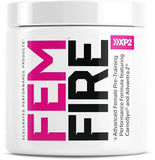 FEM-FIRE STRAWBERRY LEMONADE, PRE WORKOUT, XCELERATED PERFORMANCE PRODUCTS