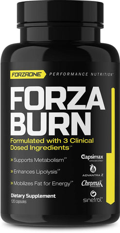 FORZA BURN™, WEIGHT MANAGEMENT & THERMOGENICS, FORZAONE PERFORMANCE NUTRITION