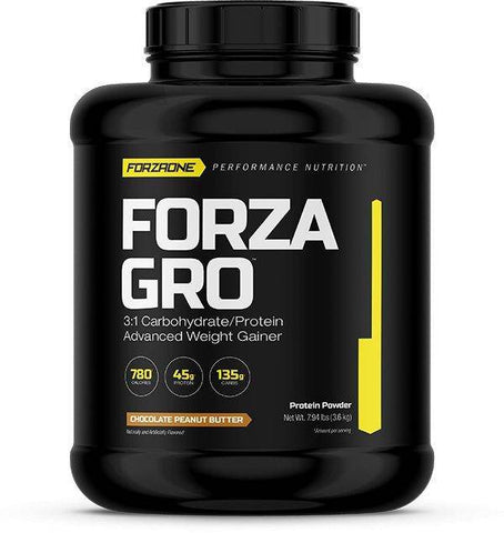 FORZA GRO™, WEIGHT GAINER, FORZAONE PERFORMANCE NUTRITION