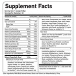 NATURE'S SUPERFRUITS™ Supplement facts