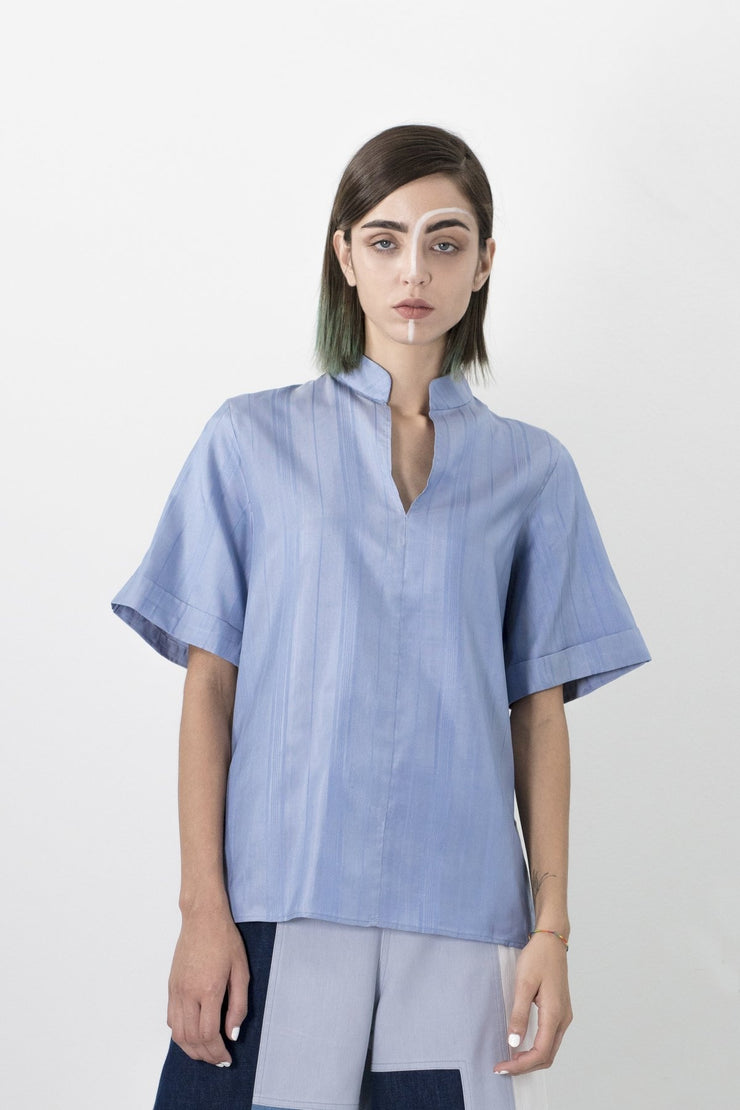 Fadhila Silk Shirt - Couscous Connection