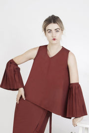 Marrakesh Asymmetrical Top - Couscous Connection