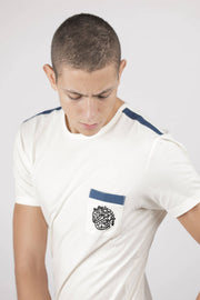 White Calligraphy T-Shirt - Couscous Connection