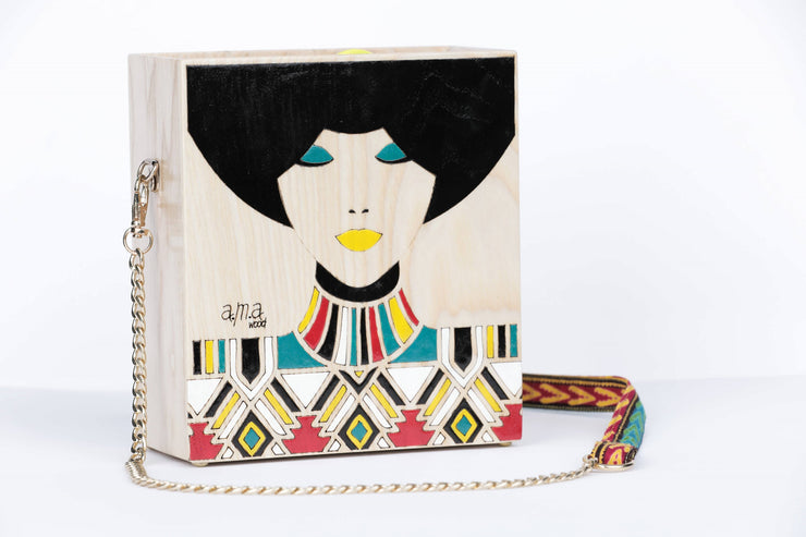 Wood Bag Afro - Couscous Connection