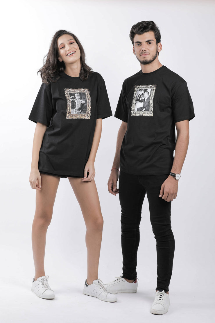 T-shirt Model Bourguiba Black - Couscous Connection