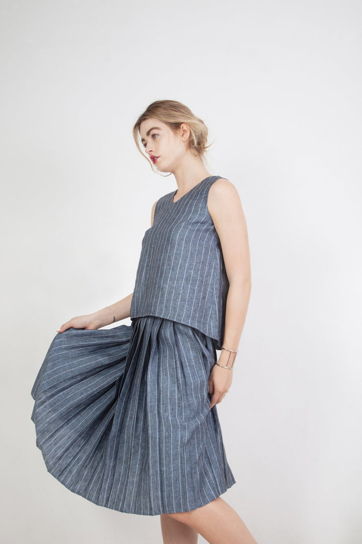 Sophia Pleated Skirt - Couscous Connection