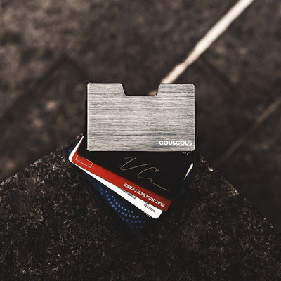 Minimalist Wallet Silver - Couscous Connection