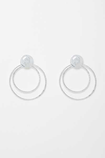 Hoop Lira Earrings Small Size - Couscous Connection