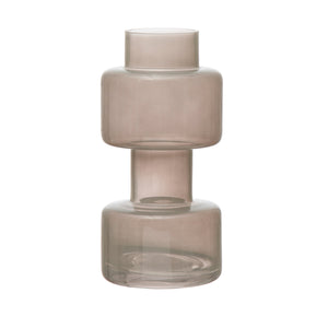 Vases Milky Glass Vase - The Fond Home
