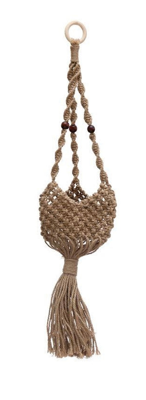 Open image in slideshow, Plant Basket Jute Plant Hanger Basket - The Fond Home
