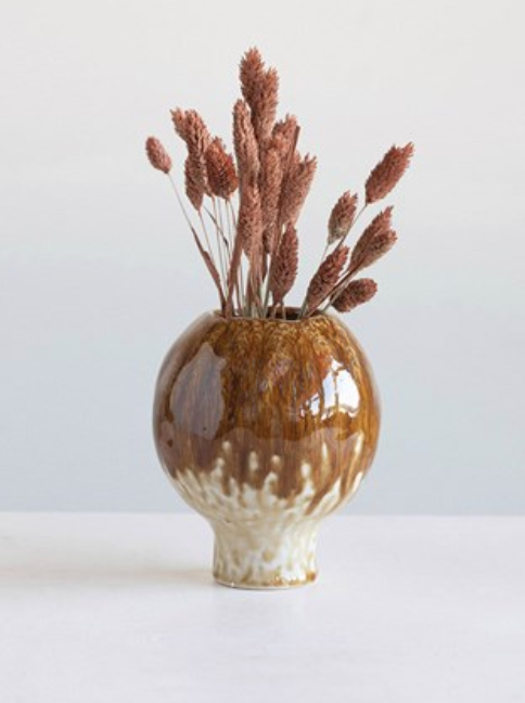 Stoneware Bud Vase - The Fond Home