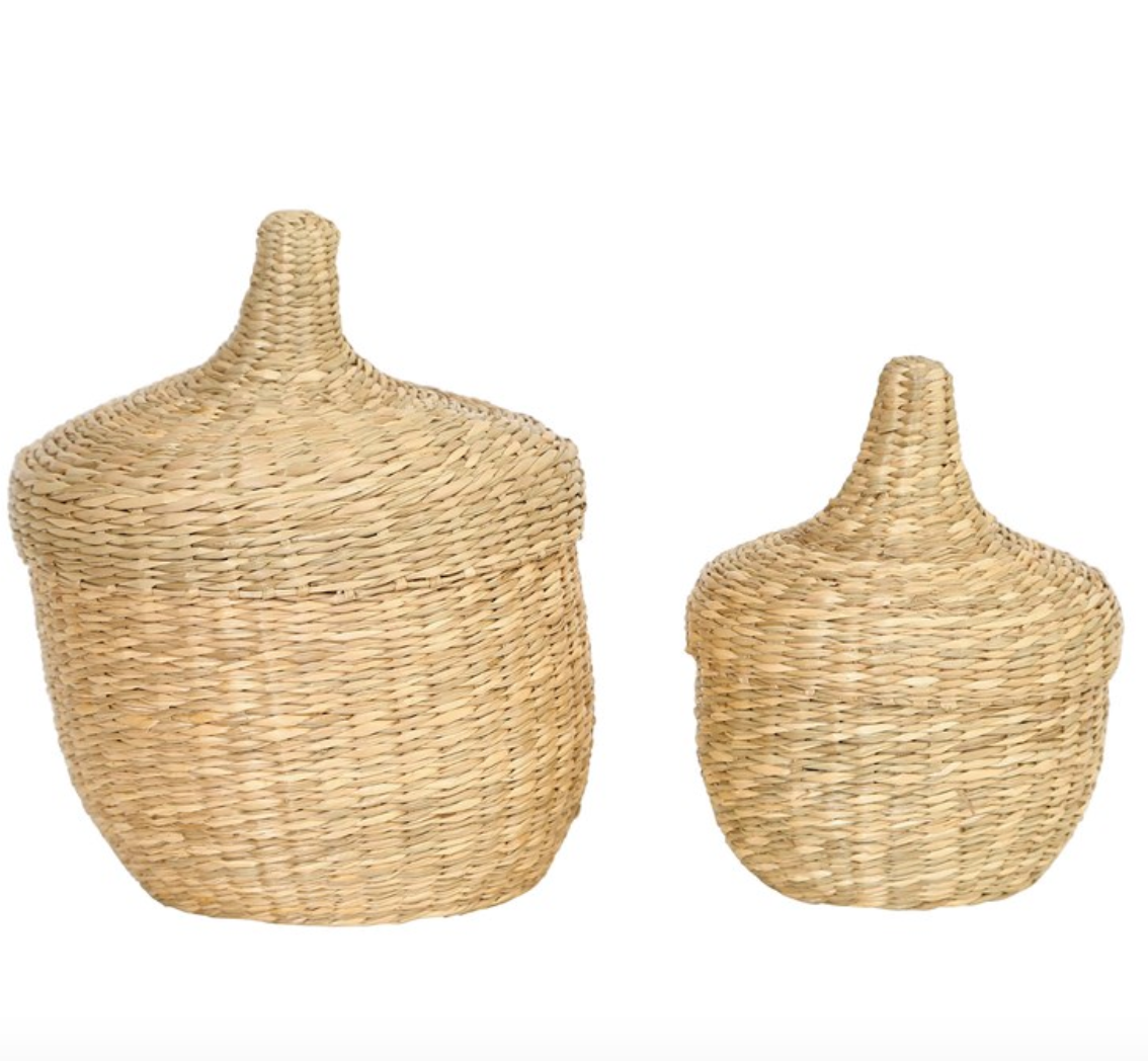 Baskets Seagrass Mini Basket Set - The Fond Home