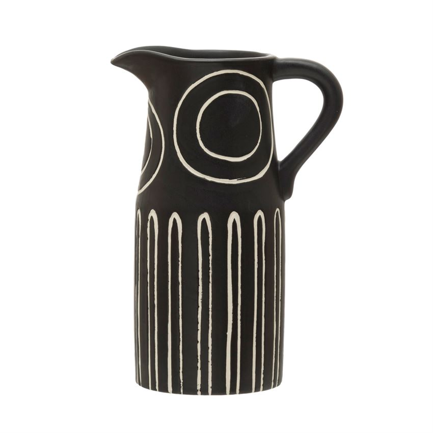 Pitcher Stoneware Pitcher - The Fond Home