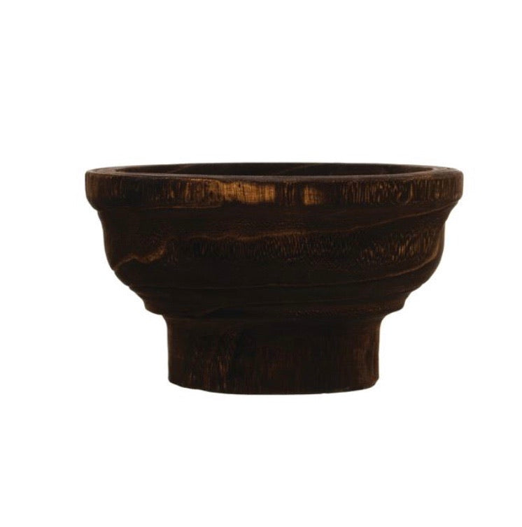 Decorative Wood Bowl - The Fond Home