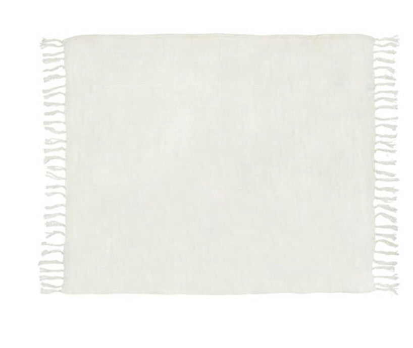 Blanket Linen Throw - The Fond Home