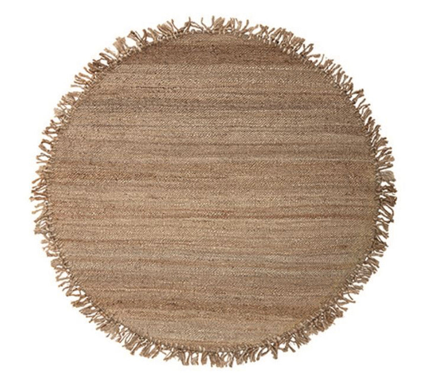 Rugs Round Jute Rug - The Fond Home