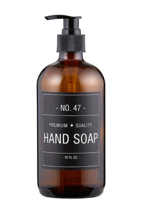 Hand Soap Bottle with Pump - The Fond Home
