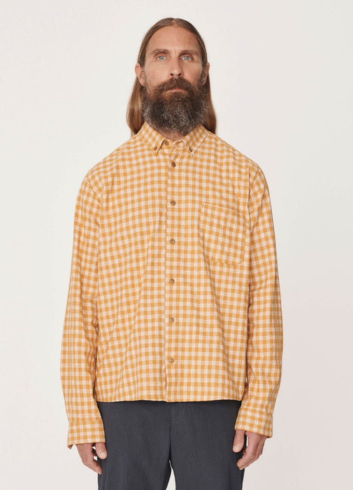 DEAN SHIRT / YELLLOW CHECK