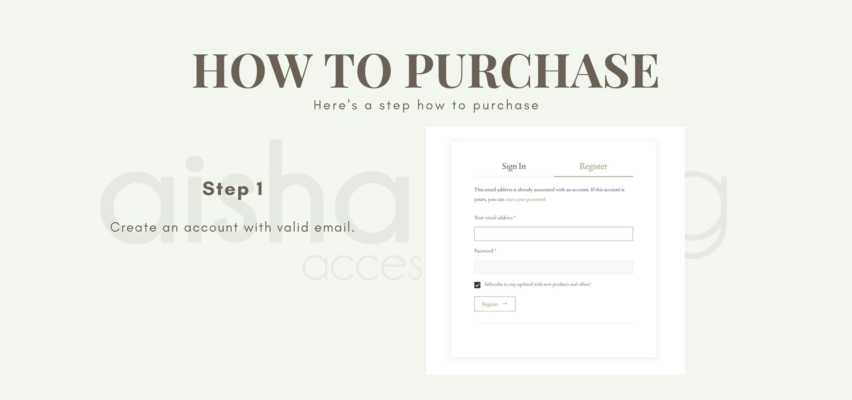 how to purchase 1