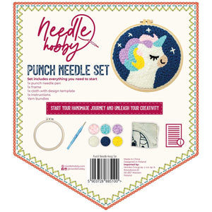 Fabulous Unicorn Punch Needle Kit