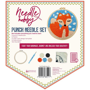 Dreaming Fox Punch Needle Kit