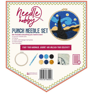 Starry Night Punch Needle Kit