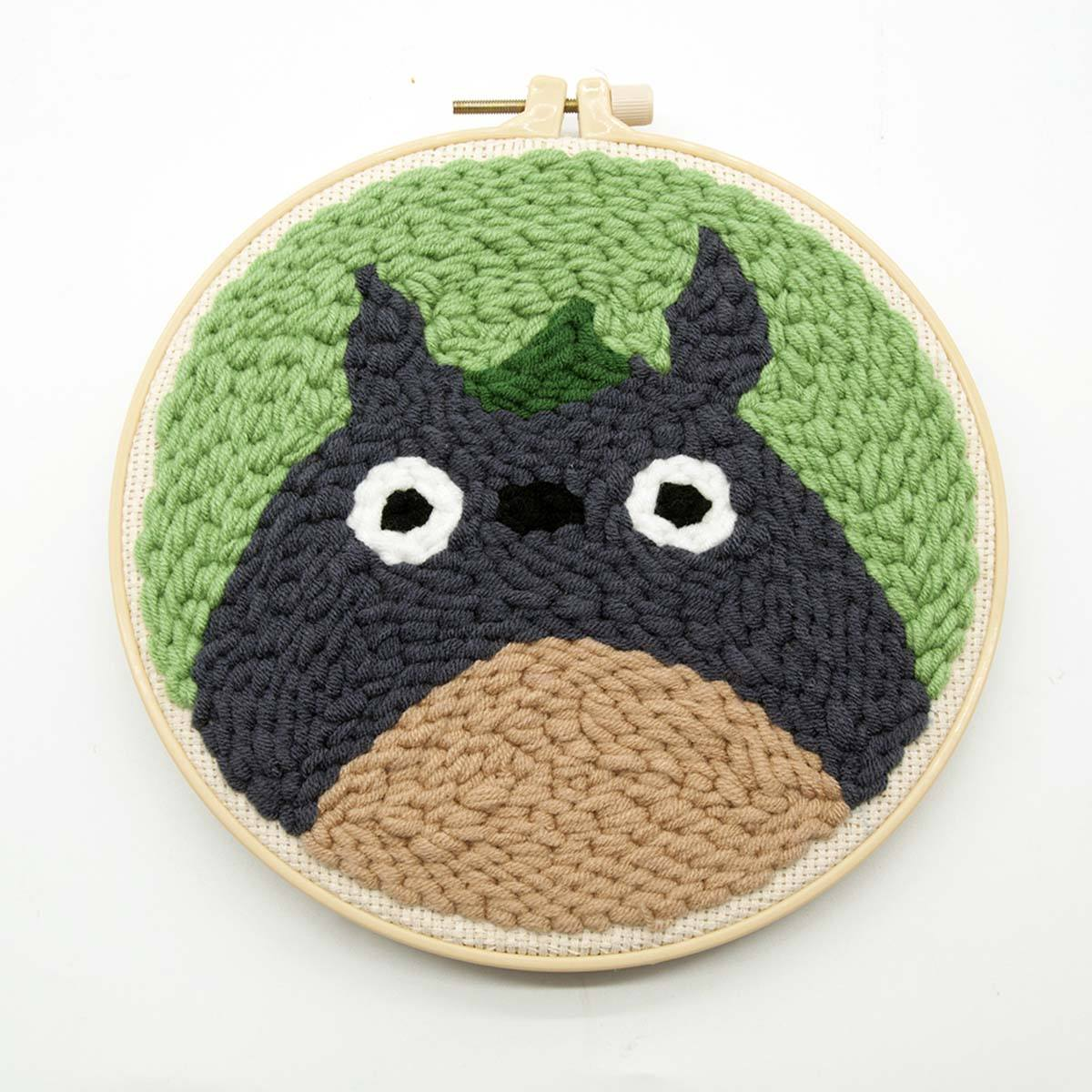 Totoro Punch Needle Kit