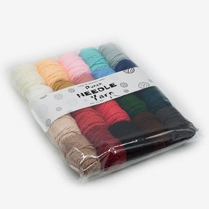 20 Colors Punch Needle Yarn