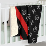 Couture Pattern Fleece Blanket