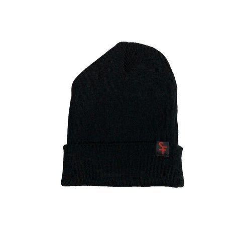 Black Super Future Beanie