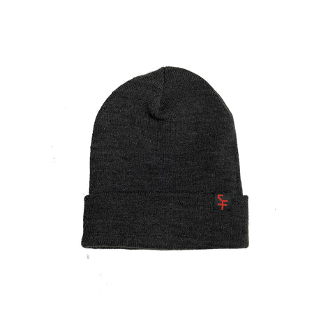 Grey Super Future Beanie