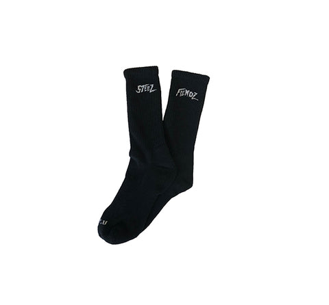 Mania Socks (Black/White)