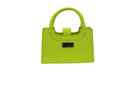 Bands Mini Handbag Lime Green Grande Dame
