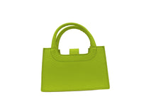 Load image into Gallery viewer, Bands Mini Handbag Lime Green Grande Dame