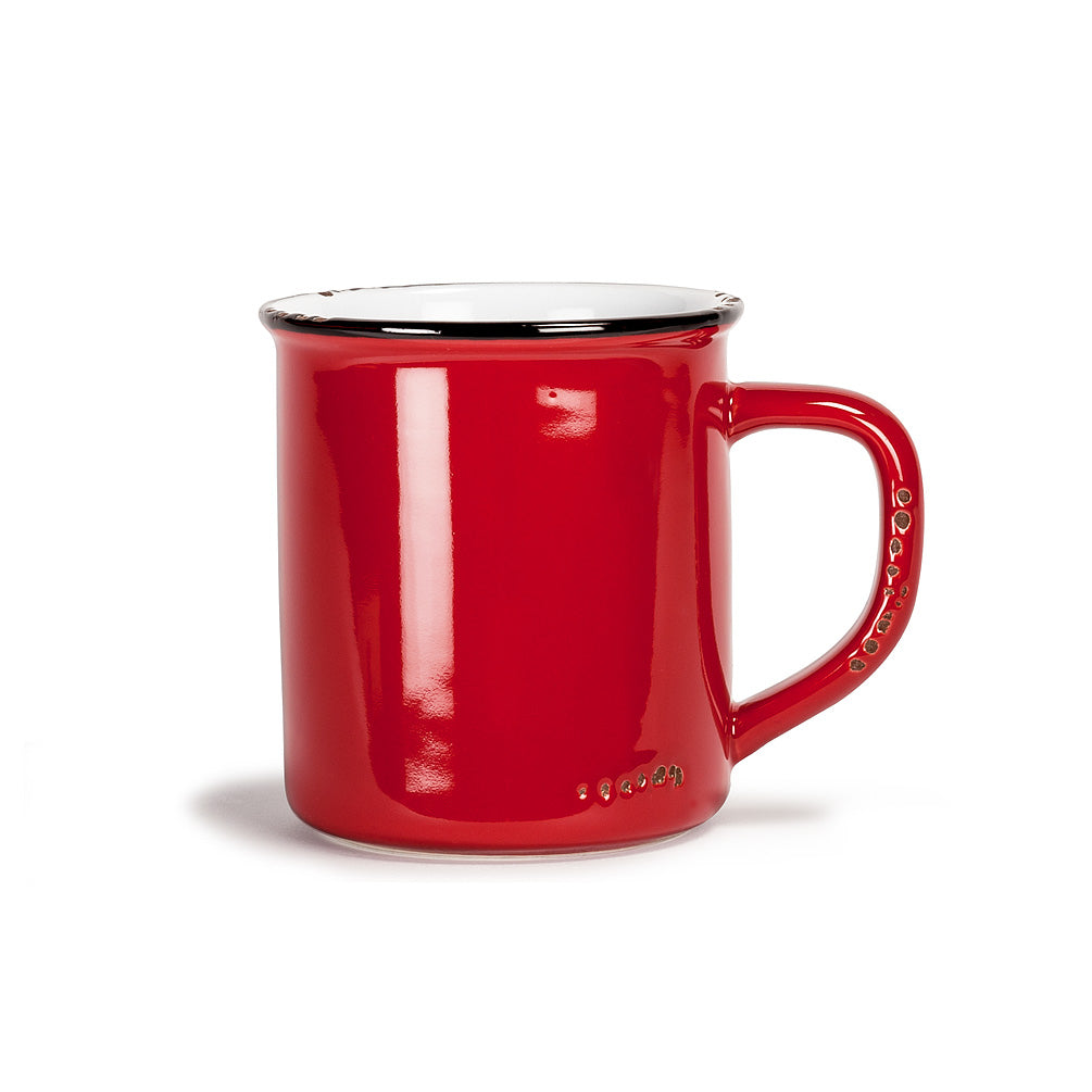 Enamel Mug - Red