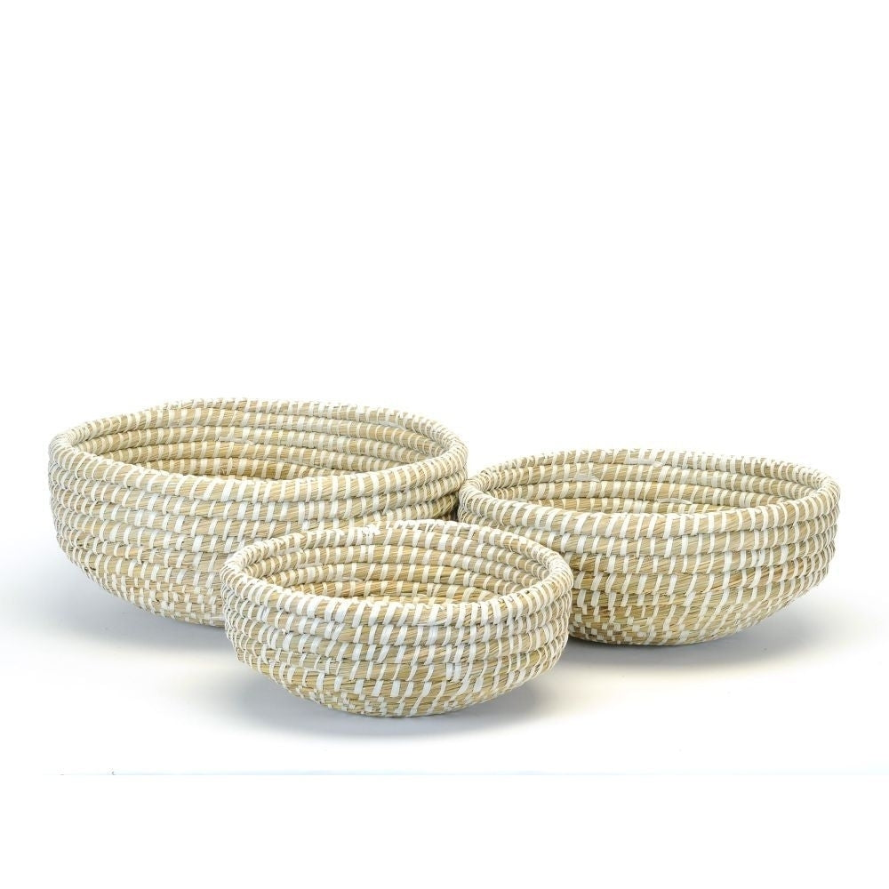 Straw Decor Bowl-Medium