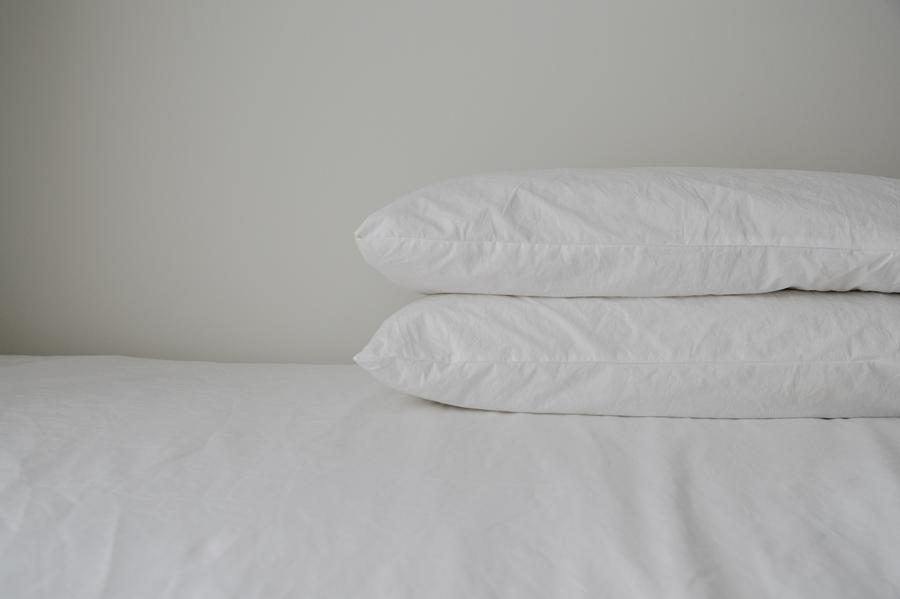 King Pillow Case Set of Two-White
