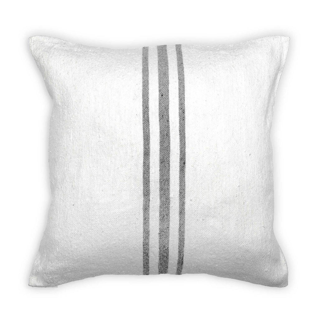 Moroccan Pillow Light Grey 18x18