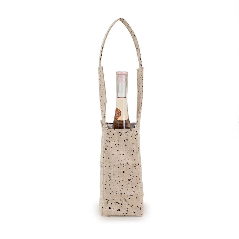 So Young Linen Splatter Wine Cooler