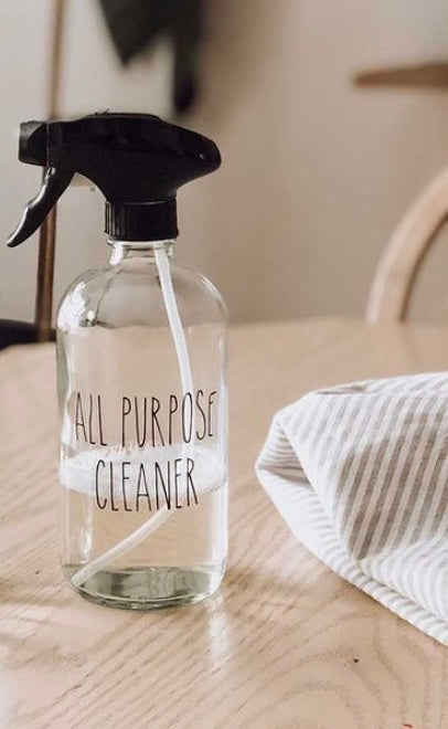 Clear All Purpose Spray Bottle